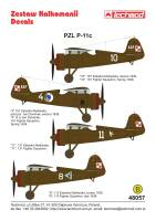 48057 - PZL P.11c - decals