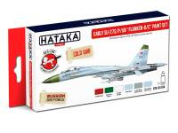 HTK-AS104 Early Su-27S/P/UB Flanker-B/C paint set of 6 x 17ml