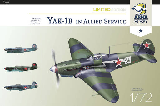 70029 Yak-1b Allied Fighter Limited Edition!