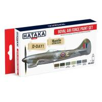 HTK-AS07 Royal Air Force paint set of 6