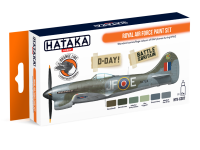 HTK-CS07 Royal Air Force paint set ORANGE LINE 6 x 17ml