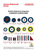 72023 British National Insignias - Hawker Hurricane decals