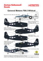 72032 General Motors FM-2 Wildcat decals