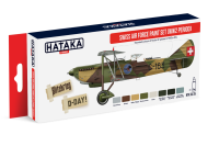 HTK-AS15 Swiss Air Force Paint Set WW2 period
