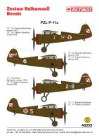 48059 - PZL P.11c - decals