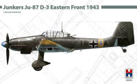 H2K48004 Junkers Ju-87 D-3 Eastern Front 1943 ( ex HASEGAWA + Cartograf )