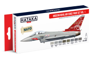 HTK-AS52 Modern Royal Air Force paint set vol. 1