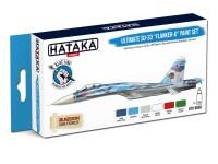 HTK-BS83 Ultimate Su-33 Flanker-D paint set 6 of 17ml – BLUE LINE