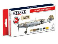 HTK-AS06.2 Luftwaffe in Africa paint set 6x17ml