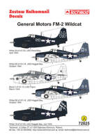 72025 General Motors FM-2 Wildcat decals