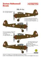 48060 - PZL P.11c - decals