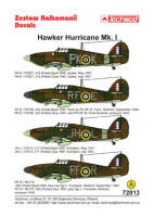 72013 Hawker Hurricane Mk I decals