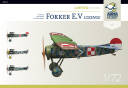 70014 Fokker E.V - Lozenge - Limited Edition kit