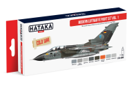 HTK-AS48 Modern Luftwaffe paint set vol. 1, set of 8