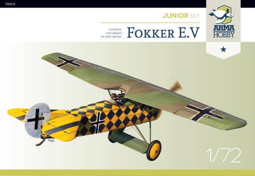 70013 Fokker E.V Junior set!