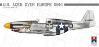 H2K72024 P-51B Mustang US Aces over Europe ex-Hasegawa!