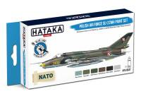 HTK-BS47 Polish Air Force Su-22M4 paint set of 6 x 17ml – BLUE LINE