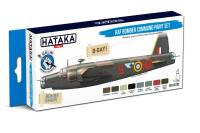 HTK-BS102 RAF Bomber Command paint set 8 x 17ml – BLUE LINE