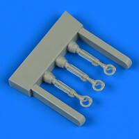 Hawker Hurricane control lever 3pcs. (Arma Hobby) 1/72 !