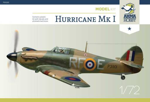 70020 Hurricane Mk I  - 303 Squadron PAF - Model Kit!