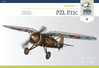 70016 PZL P.11c Junior Set 1/72!
