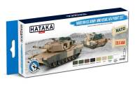 HTK-BS67 Modern US Army and USMC AFV paint set 8 x 17 ml – BLUE LINE