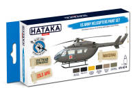 HTK-BS19 US Army Helicopters Paint Set 6 x 17ml – BLUE LINE