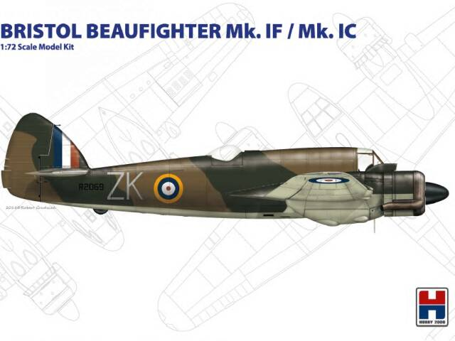 Bristol Beaufighter from Hobby2000