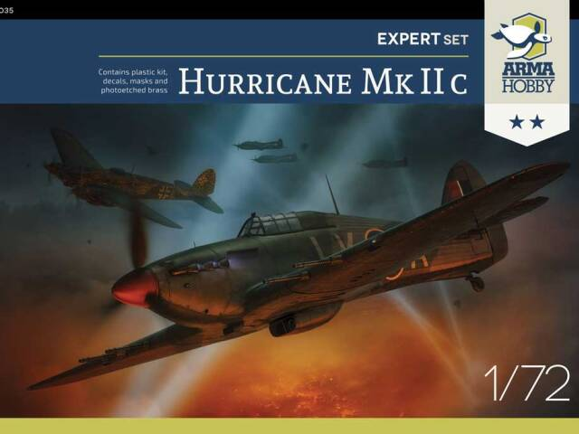 Hurricane Mk IIc sales schedule