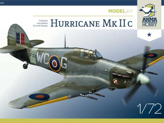 Hurricane IIc Model Kit Preorders and plastic parts offer
