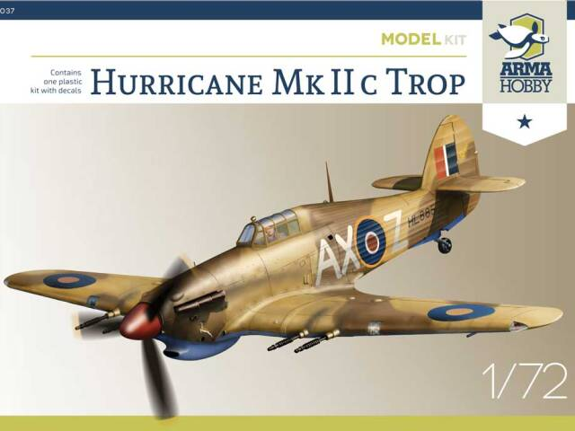 Hurricane Mk IIc Trop - taking preorders